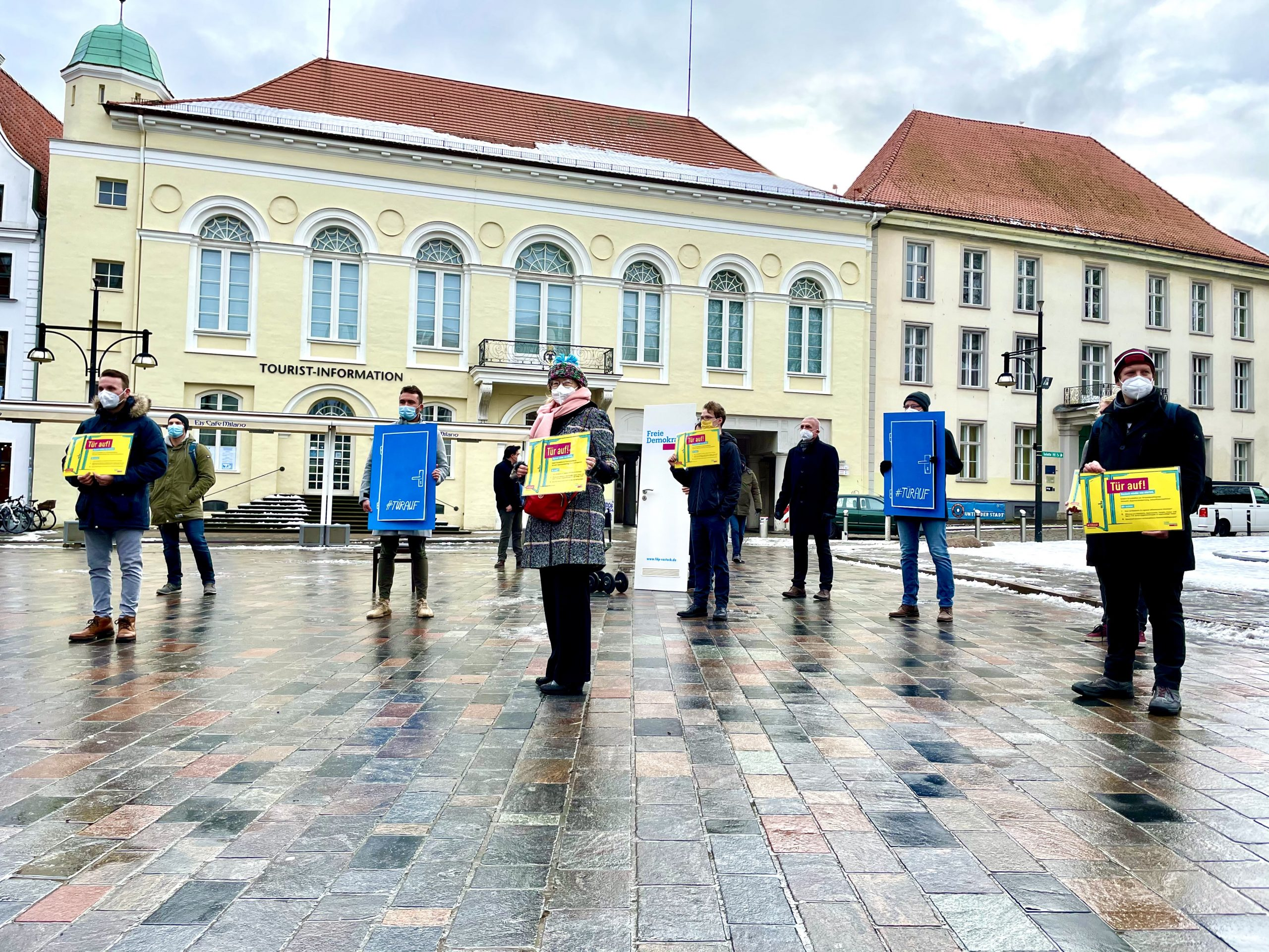 FDP Rostock öffnet Türen